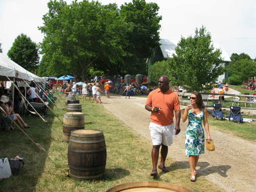Guests at Fenn Valley Fest 2012