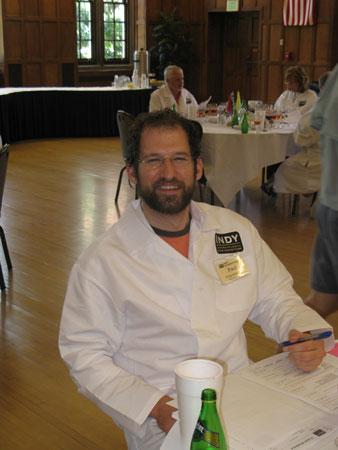 Wine judge Paul Gospodarszyk of Today's Wine Professional