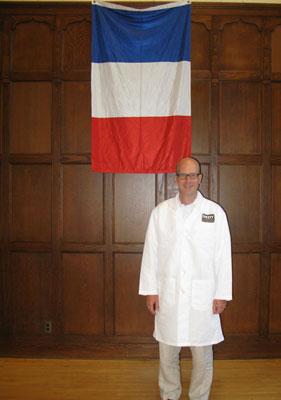 Guest wine judge, Midwest Wine Press Publisher, Mark Ganchiff