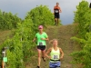 Running through the vines in Leelanau County Michigan