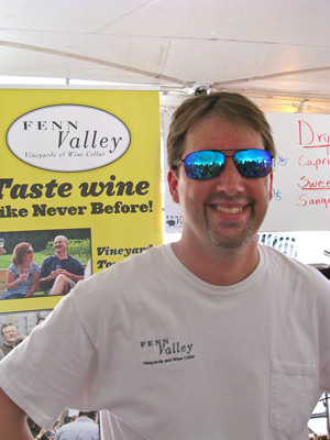 Aaaron Harr- Fenn Valley Vineyard