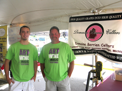 Ryan Post and Wally Maurer, Domaine Berrien Cellars