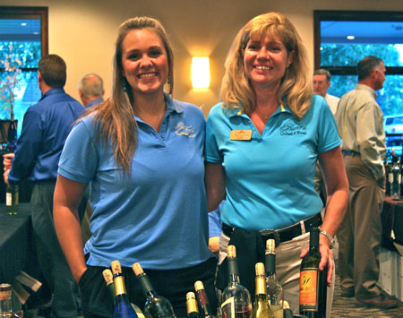 Leah Ernstberger and Sally DeWees of Huber Winery