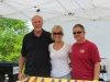 Clem Steily, Trisha Tuntland and Steve Wolff of Waterman Winery
