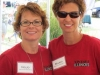 NoJo Sawin of August Hill Winery and Maria Mamoser of Prairie State Winery