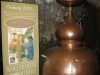 The copper Portuguese pot still used to make Wollersheim\'s first batch of Brandy.