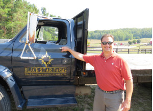 Lee Lutes,  winemaker at Black Star Farms in Leelanau County Michigan