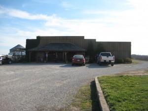Baltimore Bend Vineyard's tasting room and winery
