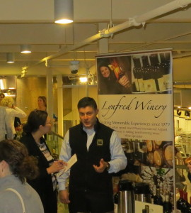Andres Basso,  director of winemaking, Lynfred Winery