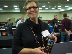 Cathy Warring from Night Hawk Winery