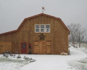 The barn at Rosehill Winery