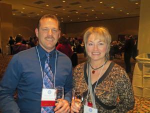 Todd Steiner of Ohio State University and Patt Held of Patty Held Consulting