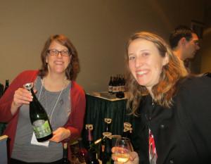 Stacy Pillar of Illinois Sparkling and Rebecca Ritz of Bauerhaus Design