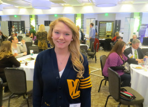 Kaylie Coleman, student at Valley Lutheran High School in Saginaw, attended the Conference as a guest of Michigan State University.  She is interested in pursuing higher education in enology.