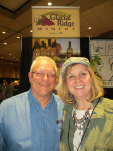Ron & Kimberly Wothe of Glacial Ridge Winery