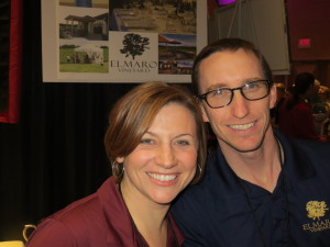 Laura and Todd Roessler of Elmaro Vineyard and Precision Wine Bottling