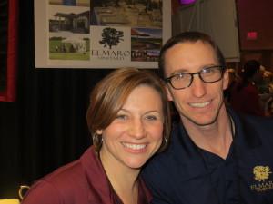 Laura and Todd Roessler of Elmaro Vineyard and Precision Wine Bottling