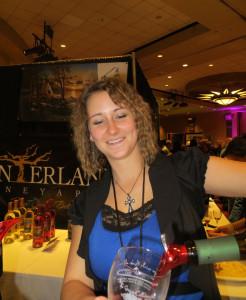 Angie Netzke of Indian Island Winery