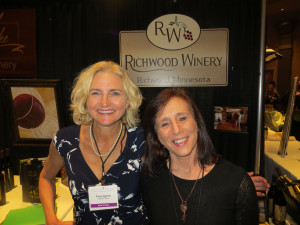 Penny Aquirre and Michelle Wang of Richwood Winery