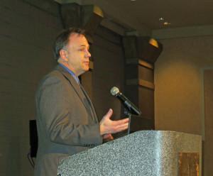 "Paul Hugunin of ""Minnesota Grown,"" winner of the MGGA Golden Achievement Award"
