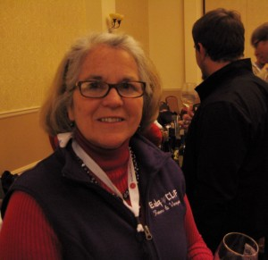 Steffie Littlefield, owner of Edg-Cliff Farms at the Missouri wine conference