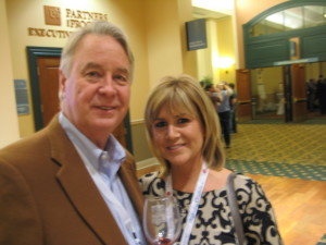 Bob and Debbie Waddell of Waddell Vineyard and Wine Cellars, Oklahoma. Hoping to open as a winery very soon after a long period getting all the right approvals in place. Streamlining this process would help local winemakers
