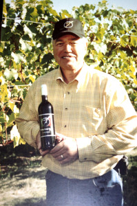 Dick Faltz of Fox Valley Winery in Oswego, IL