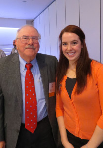 Dr. Don Holecek and Anna Popp of Michigan State University