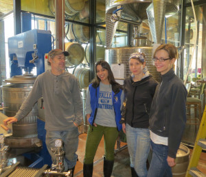 Robert Kowal, Nisha Aher, Megan Schneeberger, and Rebecca Cox of City Winery Chicago