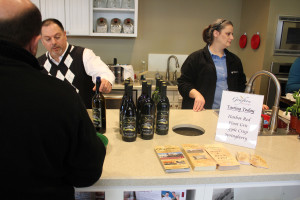Chef A.J. Giacalone talks about Harbor Red, a blend of Cabernet, Zinfandel & Syrah.