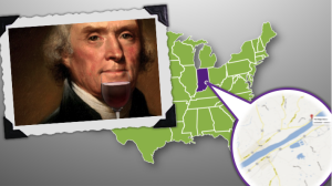 """In """"America's First Wine Region"""" your learn what Thomas Jefferson, an early Kentucky winemaker and an Indiana pack horse used to carry wine"""