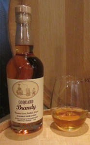 Newly released Coquard Brandy is made from St. Pepin and LaCrosse and aged for two years in custom Wisonsin barrels.