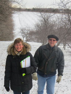Susan and Bill Brayer of Laurentide Winery
