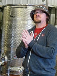 Jay Briggs of 45 North Winery