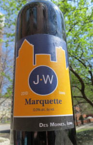 Jasper Winery released their second vintage of Marquette during December of 2012