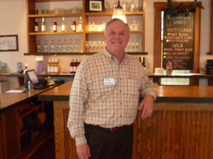 Paul Hamelin, owner of Verterra Winery in Leland Michigan, and host of the competition
