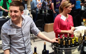 Matt Phillips with Lynfred Winery in Roselle, Illinois at Wine Riot Chicago