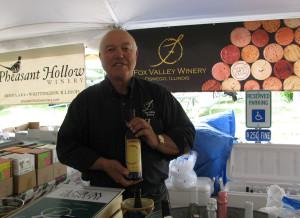 Dick Faltz of Fox Valley Winery