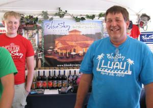 Jim Ewers of Blue Sky Winery in Makanda, Illinois