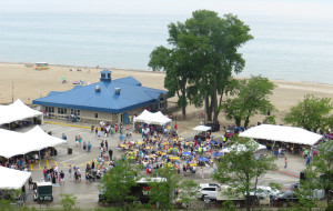 The Lake Michigan Shore Wine Festival at Weko Beach