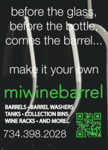 MI wine barrel ad