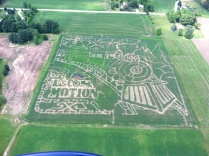The Maize Valley Corn Maze
