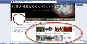 Chankaska Creek Ranch and Winery Facebook Page, Kasota, Minnesota