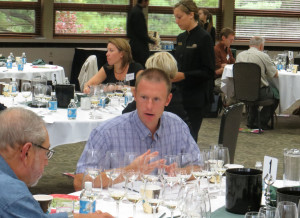 Shane Christ, winemaker, Satek WInery, Indiana
