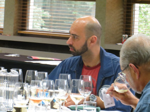 Eduard Seitan, co-owner and sommelier of Blackbird/avec/The Publican restaurants in Chicago