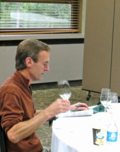 Peter Bell, winemaker, Fox Run Vineyards, New York