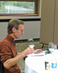 Peter Bell, winemaker, Fox Run Vineyards, New York