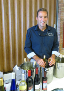 Jimmy Spencer of Harbor Springs Vineyard and Winery