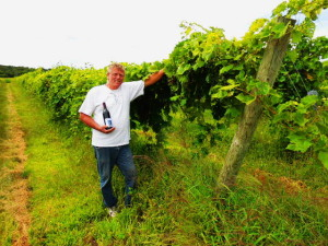 John Marshall of Great River Vineyard in Lake City, Minnesota