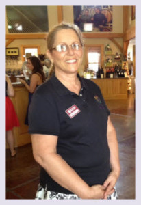 Oliver Winery Greeter Monica